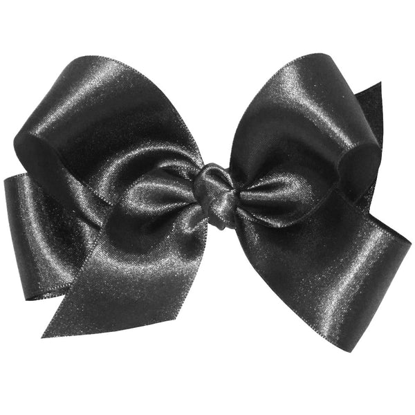 Wee Ones 5531-G Medium French Satin Basic Bow w/Knot