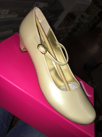Nina Shoes Seeley Bone Pearlized