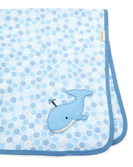CachCach A Whale Tale Blanket