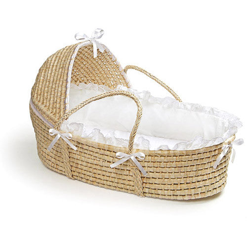 Badger Moses Basket-Natural-w/Hood