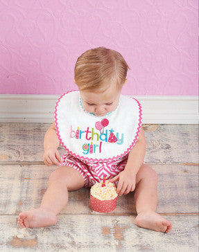 Mud Pie Birthday Girl Bib (1552113)