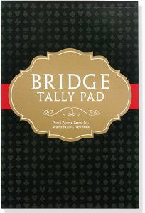 Peter Pauper Press Bridge Tally Pad (4239)