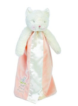 Bunnies By The Bay Purr-ty Kitty Buddy Blanket - Peachy Pink