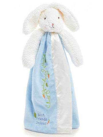 Bunnies by the Bay Bud's Buddy Blanket - Blue