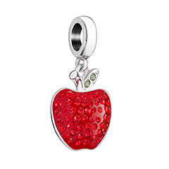 Chamilia 2025-1955 Number 1 Teacher Swarovski Apple