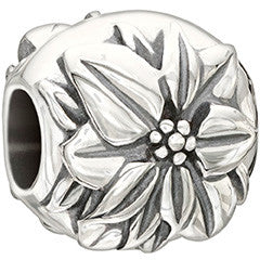Chamilia Sterling Silver - Flower of the Month December - Poinsettia 2010-3213
