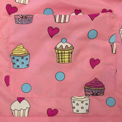 Holly & Beau Color Changing Pack Away Raincoat - Pink Cupcake-Depot Gifts & Corner Fashions