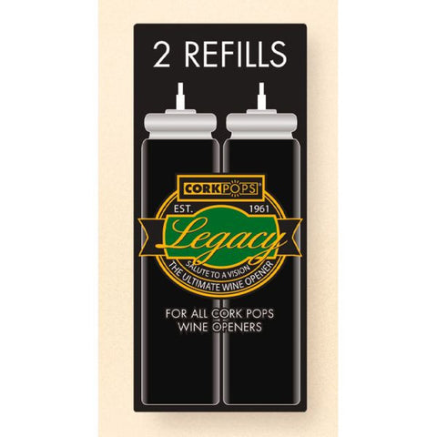 CorkPops Refill Cartridges, Box of 2