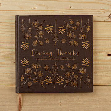 Giving Thanks (Guest Book)