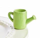 Nora Fleming Mini A155 - Watering Can Green