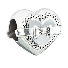 Chamilia Sterling Silver - Love Token Gift w/Rose Detail 2010-3263