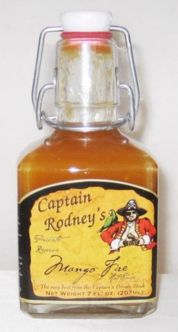 Captain Rodney's Private Reserve Mango Fire Hot Sauce