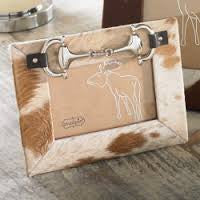 Mud Pie Cow Hide Frame 4 x 6 (469B000)