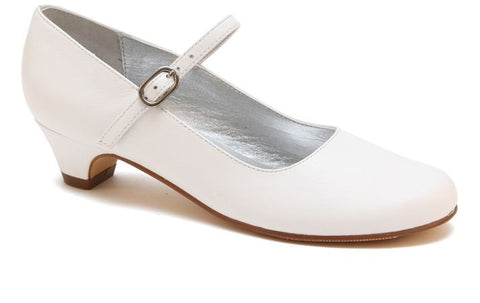 Nina Shoes Seeley White Smooth