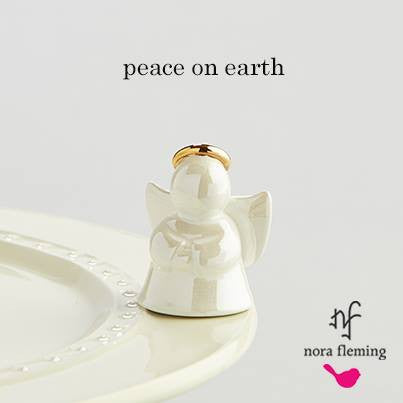 Nora Fleming Mini A169 - Peace on Earth