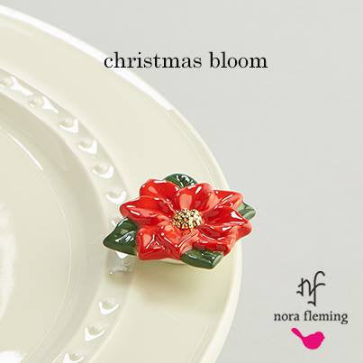 Nora Fleming Mini A170 - Poinsettia