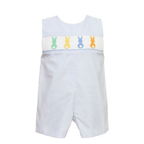 Petit Bebe Colorful Cottontails Jon Jon French Blue Stripe (120O-MS15)