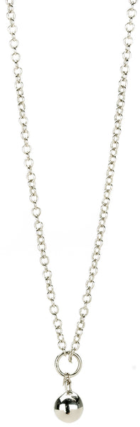 "Chamilia Sterling Silver 28""/71.1 cm Necklace - Drop Chain RC-1"