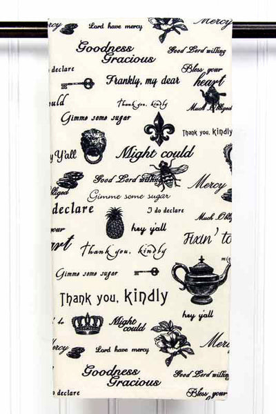 Southern Sisters Easy Care Tea Towel