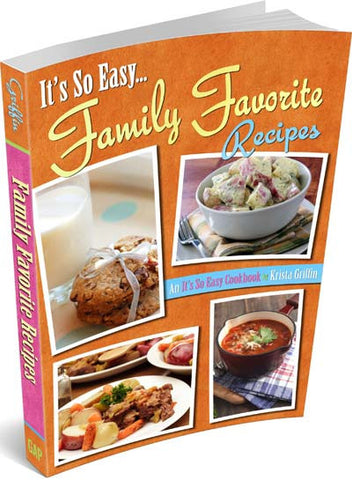 Family Favorite Recipes Cookbook