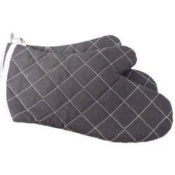 Johnson Rose Charcoal Gray Grilling Mitt