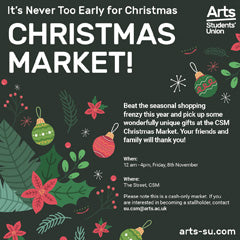 Made in Arts London X CSM Christmas Pop-up Market