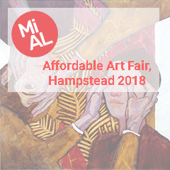 MiAL at Affordable Art Fair Hampstead 2018