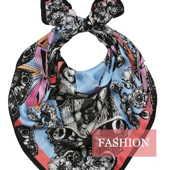 Made in Arts London Fashion Collection Emily Carter Scarf
