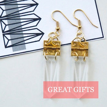 Made in Arts London Great Gifts Collection Laura Aldous Earrings