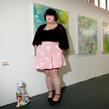 Portrait of MiAL Artist- Summer Oxley