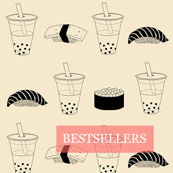 Bestsellers Collection Helen Lieu Bubble Tea and Sushi