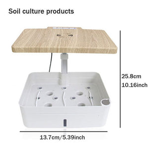 Intelligent Hydroponic Box Indoor Soilless Cultivation Equipment LED Fill Light Vegetable Planting Machine Nursery Flower Pot