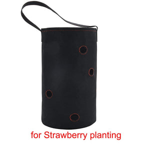 Garden Plant Grow Bag Vegetable Hanging Flower Pot Planter for Strawberry Tomato Chili Pepper Growing Home Garden