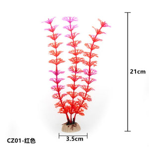 Artificial underwater plants aquarium fish tank decoration