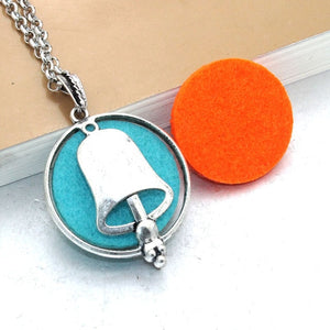 1pcs Aroma Diffuser Necklace With Pads