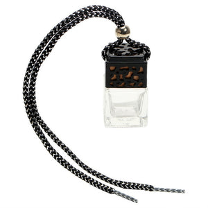 Empty Glass Bottle Car Hanging Perfume
