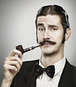 Be a True Gentleman: A Gentleman with a Pipe