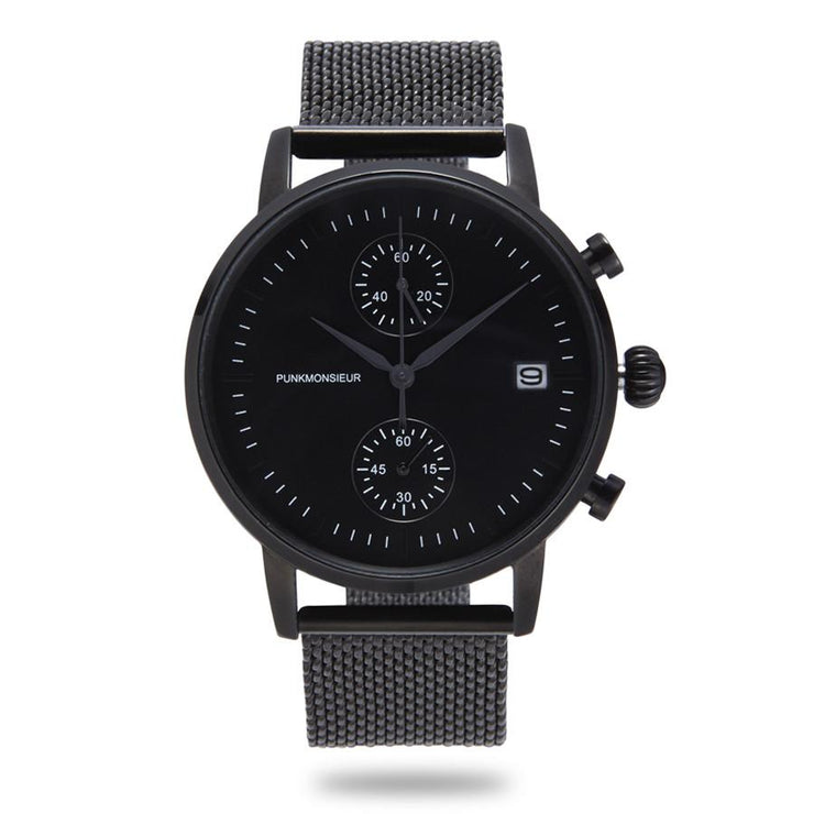 Matte black chrono