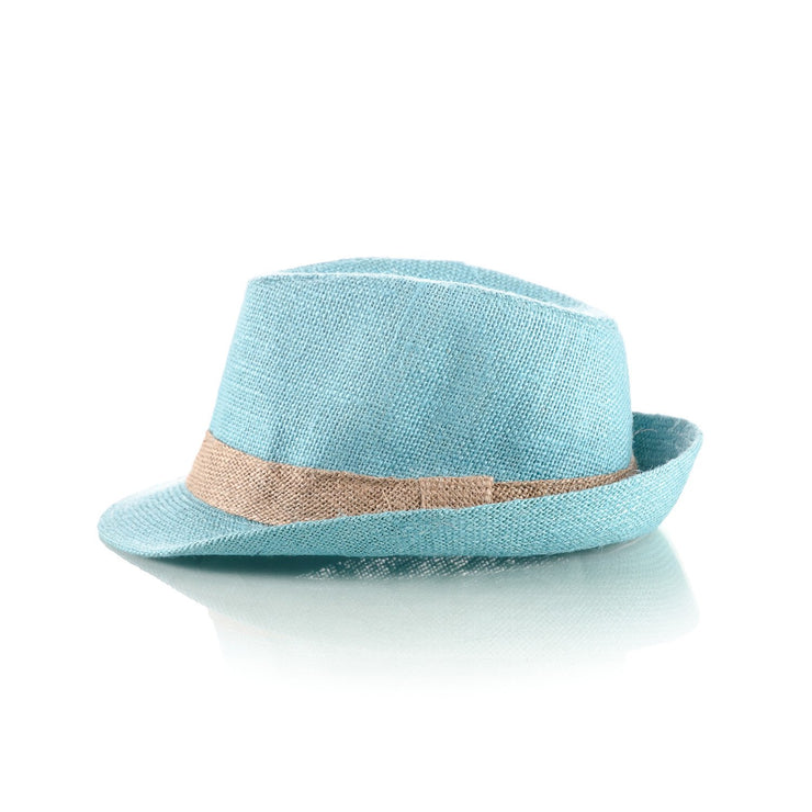 31c03aeeb75a5 Men s Sky Blue Straw Fedora – Punk Monsieur
