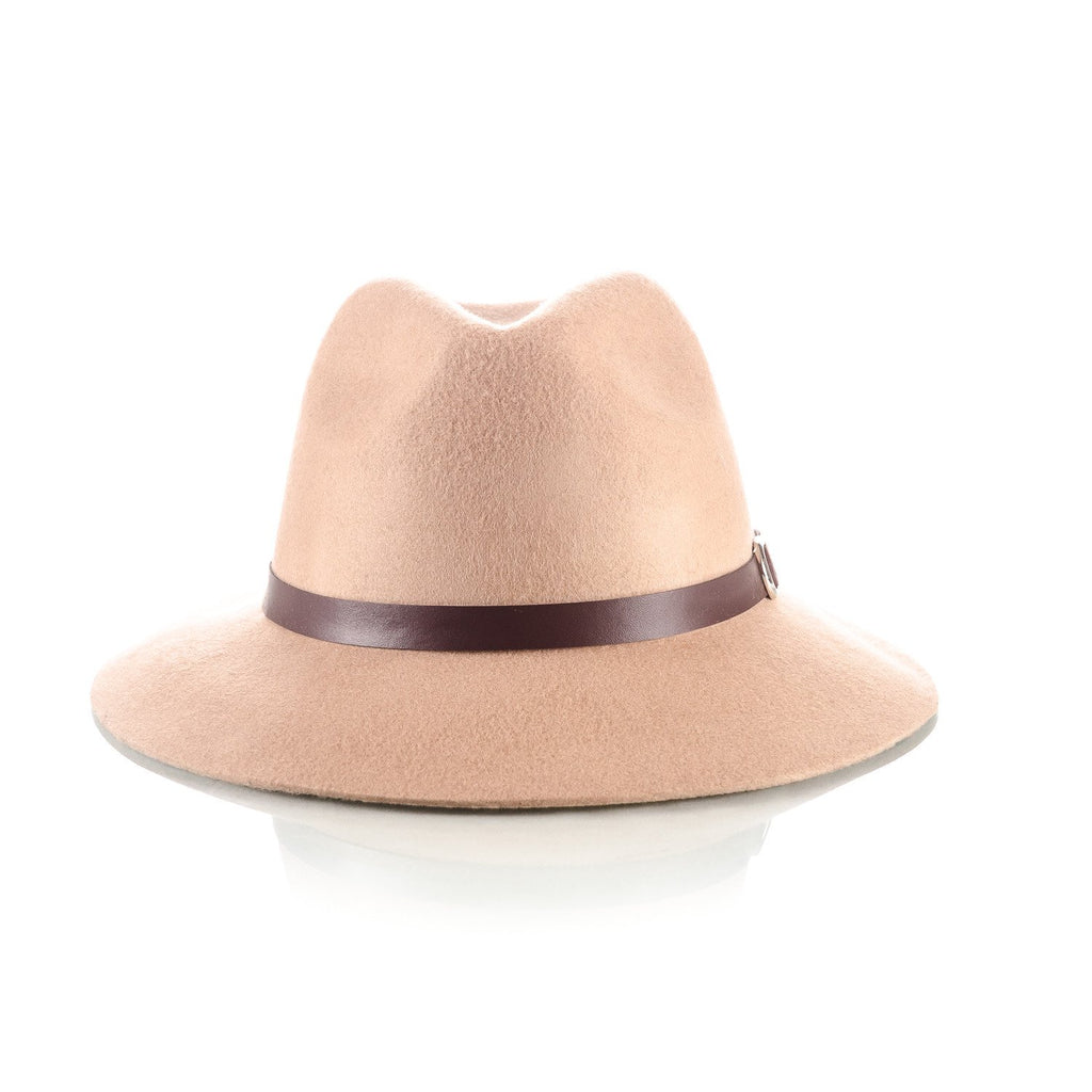 Men's Floppy Brim Hat Camel - Punk Monsieur