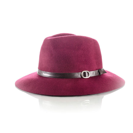 6ee88b746160c Men s Floppy Brim Hat Wine - Punk Monsieur