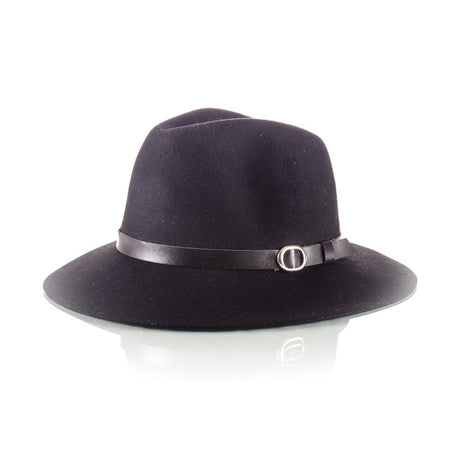 Men's Floppy Brim Hat Black - Punk Monsieur