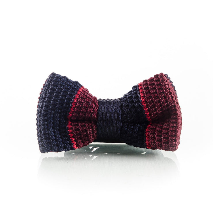 Blue & Red bow - Punk Monsieur