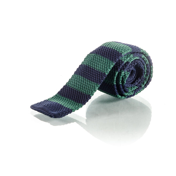 Green Knit Tie - Punk Monsieur
