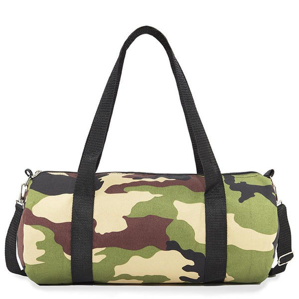 camo duffle bag - Punk Monsieur