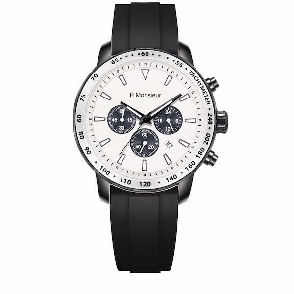 Black chronograph