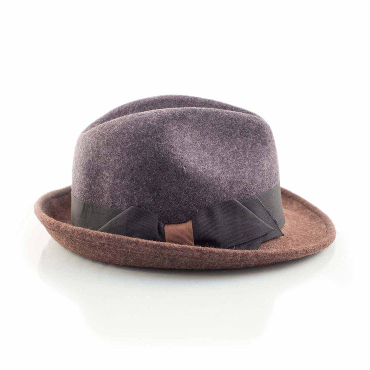 Blue trilby fedora - Punk Monsieur