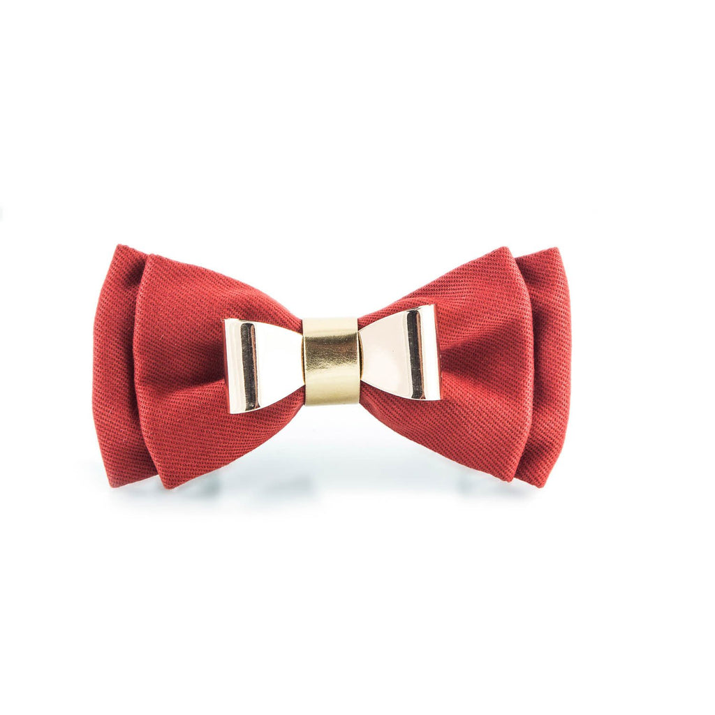Men's Novelty Red Bow tie - Punk Monsieur