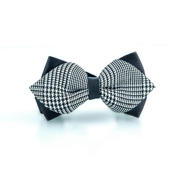 Grey Bow Tie - Punk Monsieur