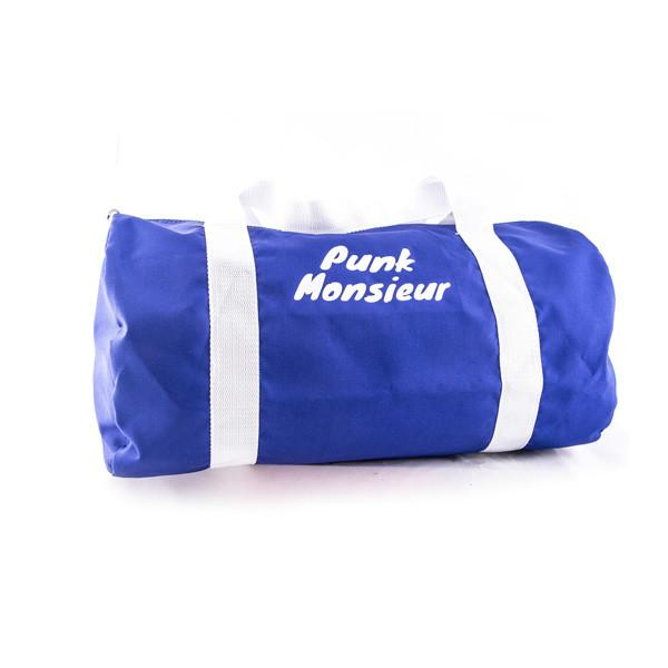 Electric blue duffle bag - Punk Monsieur